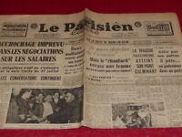 """[PRESSE WW2 APRES GUERRE] """"LE PARISIEN LIBERE"""" # 894 1er AOUT 1947"""