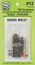Kadee #58 Scale Metal Magna-Matic w/o Draft Box (40) HO 12