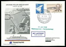 BRD 1986 POLAR-KREUZFAHRT Hapag-Lloyd PACKEISGRENZE-NORDPOLARMEER al71