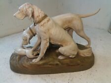 Large Royal Dux China Dogs Figure , Pointers ?