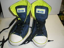 Children's Converse One Star Blue High Tops US Junior Size 2 EUC