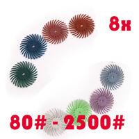 "3-1//2/""Wide Emery Cloth Roll 20/"" Length Aluminum Oxide Cloth Back 80 Grit"