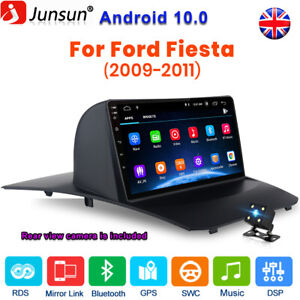 For Ford Fiesta 2009-2011 ANDROID10 Car Stereo Radio GPS Sat Nav WIFI CAMERA RDS