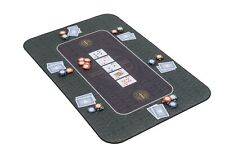 More details for the broadway poker mat in green by riverboat gaming - 100x65cm (poker table top)