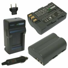 Wasabi Power Battery (2-Pack) and Charger for Fujifilm NP-150