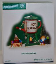 Department 56 North Pole Hot Chocolate Tower Christmas Village Accessories Decor