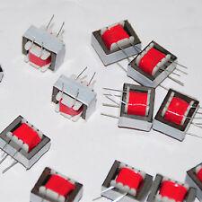 10x Audio Transformers 600 : 600 Europe 1:1 EI14 Isolation Transformer Ringing