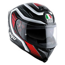 CASCO INTEGRALE AGV K-5 S MULTI PLK - FIRERACE BLACK - RED TAGLIA XS