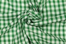 GINGHAM FABRIC 1/4 IN 112CM WIDE Dress Clothing Tablecloth Curtains Craft Check
