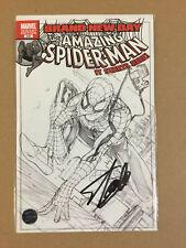 Marvel Amazing Spider-man #15 B/&W Turner Sketch Variant Signed by Stan Lee w//COA
