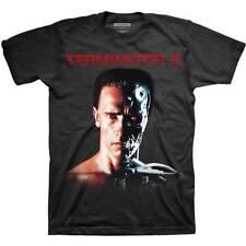 Terminator 2 Arnold Schwarzenegger Arnie Official Tee T-Shirt Mens