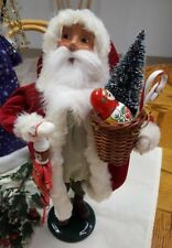 Byers Choice '17 Santa Claus w/Toys Open House Special Ed. Signed by Joyce Byers