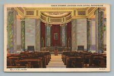 Senate Chamber State Capitol Baton Rouge LA Postcard