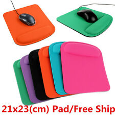 Ergonomic Wrist Support Comfort Mouse Mice Mat Square Large Thick Cushion Pad A+