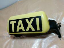 Taxischild Saugnapf 2x Schlüssel für Dachmontage von AEROTEC Taxi Schild Reklame