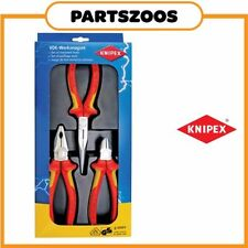 Knipex 1000v Volt Insulated Electricians 3pc Plier Set 002012