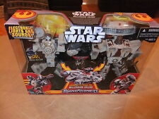 Transformers Star Wars Han Solo V Chewbacca Combine to Millennium Falcon MISB