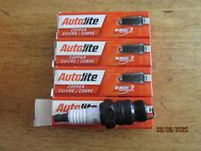 NEW 4 pc Genuine Autolite 46 Copper Core Spark Plug Classic/Vintage