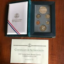 1997-S Us Mint Prestige Proof Set w Us Botanical Garden Commem. 6 coins