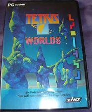 Tetris WORLDS PC CD-ROM Juego Usado Retro Video Juego De Computadora