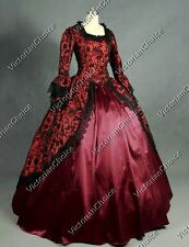 Renaissance Marie Antoinette Dress Masquerade Gown Theater Steampunk N 143 XL