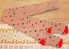 Hema Girls Maillot Tights HEARTS size 98/104 new