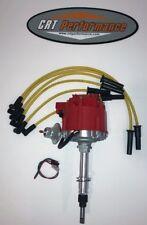 NEW Jeep AMC GM HEI Distributor + Plug Wires CJ5 CJ7 YJ 258 4.2L - RED / YELLOW