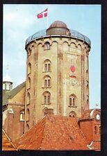 THE ROUND TOWER, COPENHAGEN. MODERN POSTCARD. RUNDETAARN RUNDETARN