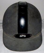 GPA 6 Gray & Black Titium Helmet 7 1/2 Professional Riding Helmet