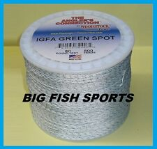 WOODSTOCK BRAIDED DACRON IGFA Pro Power Fishing Line 80LB-800YD FREE USA SHIP!