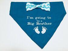 Dog Pregnancy Gender Reveal, Dog Bandana Big Brother, Maternity, Dog Lovers Gift