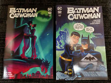 Batman Catwoman #1 Team Variant Bruce Timm, Jen Bartel Set * Brand New *