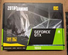 ZOTAC Geforce GTX 1650 Gaming OC Grafikkarte