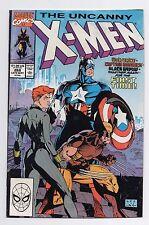 Marvel Comics The Uncanny X-Men #268 Capt. America, Black Widow, & Wolverine