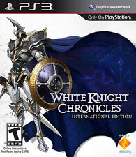 White Knight Chronicles (Sony Playstation 3, 2010) PS3