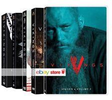 VIKINGS - SERIE COMPLETA 01-04 [pt 1 e 2] (15 DVD) SERIE TV WARNER
