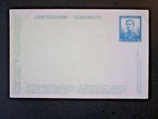 Belgium early 1900s Telegram Card / 30c Unused - Z4816