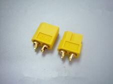 5 coppie connettore maschio XT60 maschio e femmina per batteria lipo RC ESC
