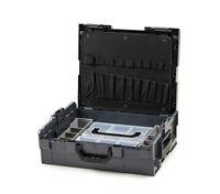 Bosch Sortimo L-Boxx 136 anthrazit mit Werkzeugkarte 1 und Insetboxenset Mini