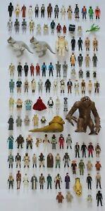 Vintage Star Wars Incomplete ANH, ESB, ROTJ and POTF Figures - Choose Your Own