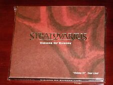 Stratovarius: Visions Of Europe 2 CD Set 2003 Sauron Music Korea Slipcase NEW