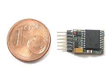 Kühn N025p - Lokdecoder N025-P, DCC/Mot, 6pol. Stecker am Decoder 1 Stück - NEU
