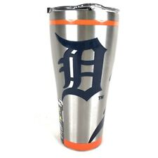 Tervis Detroit Tigers Stainless Steel Tumbler 30 OZ Silver Travel Mug Baseball
