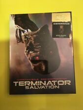 Terminator Salvation HDZeta Fullslip Blu-ray Steelbook Mint NEW SEALED RARE