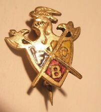 Fcb Order Knights Pythias Vintage Lapel Pin Friendship gift