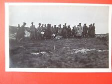 RARE VINTAGE MILITARY PHOTO-  WWI SOLDIERS