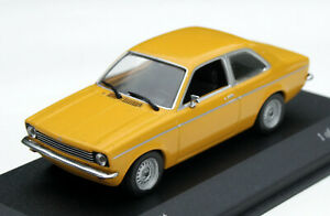 Opel Kadett C Lim. Bj. 1973-1977, Ochre Yellow, Minichamps-Modell IN M.1: 43,