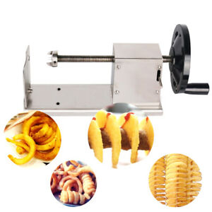 Potato Slicer Manual Spiral Twisted sweet Potato 3in1 Multifunction carrot Cuter