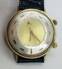 LeCoultre Vintage 10k Yellow Gold Filled Manual Wind Alarm Memovox Men's Watch