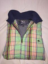 LRG jacket multi-colored flannel EDC Hypebeast size Medium